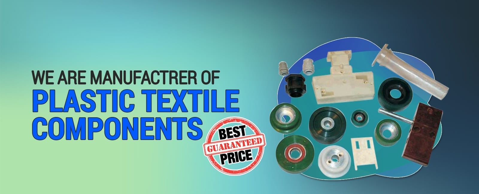 plastic textile components manufacturers india